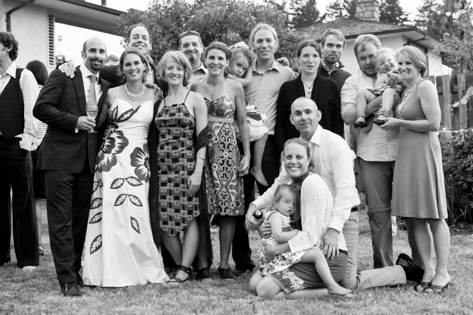 The SAFS alumni at our wedding