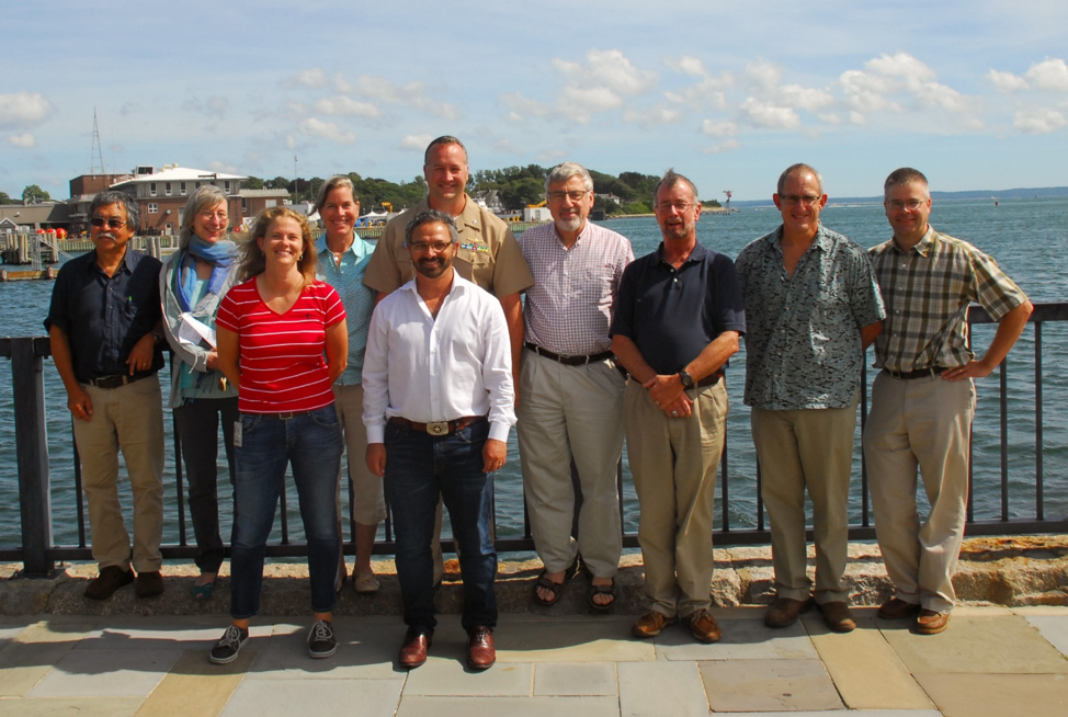 With NEFSC leadership team shortly before my retirement in 2016 (Woods Hole)
