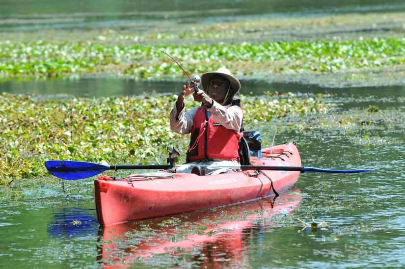 Fishing from a kayak.MyFWC Florida Fish and Wildlife