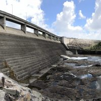 A small hydropower dam in Brazil