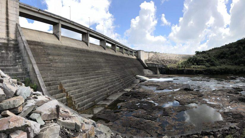 A small hydropower dam in Brazil