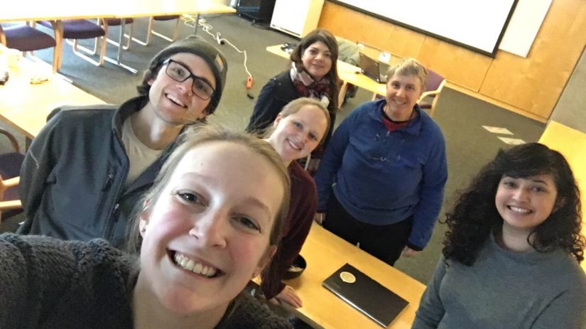Beth Fulton came to campus and we had a really wonderful discussion about fisheries careers, science, and life. Stephanie Thurner
