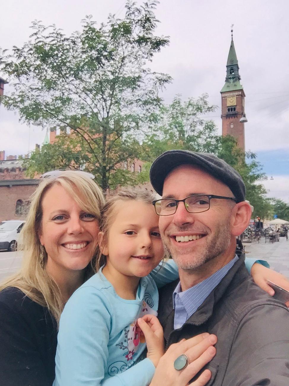 Visiting dear friends in Denmark, 2015.