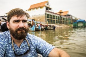 With new hydropower dams expected to disrupt the natural water flow of the Mekong River, Gordon Holtgrieve is working in Cambodia to uncover how the nutritional quality and quantity of fish will be affected. Mark Stone/University of Washington